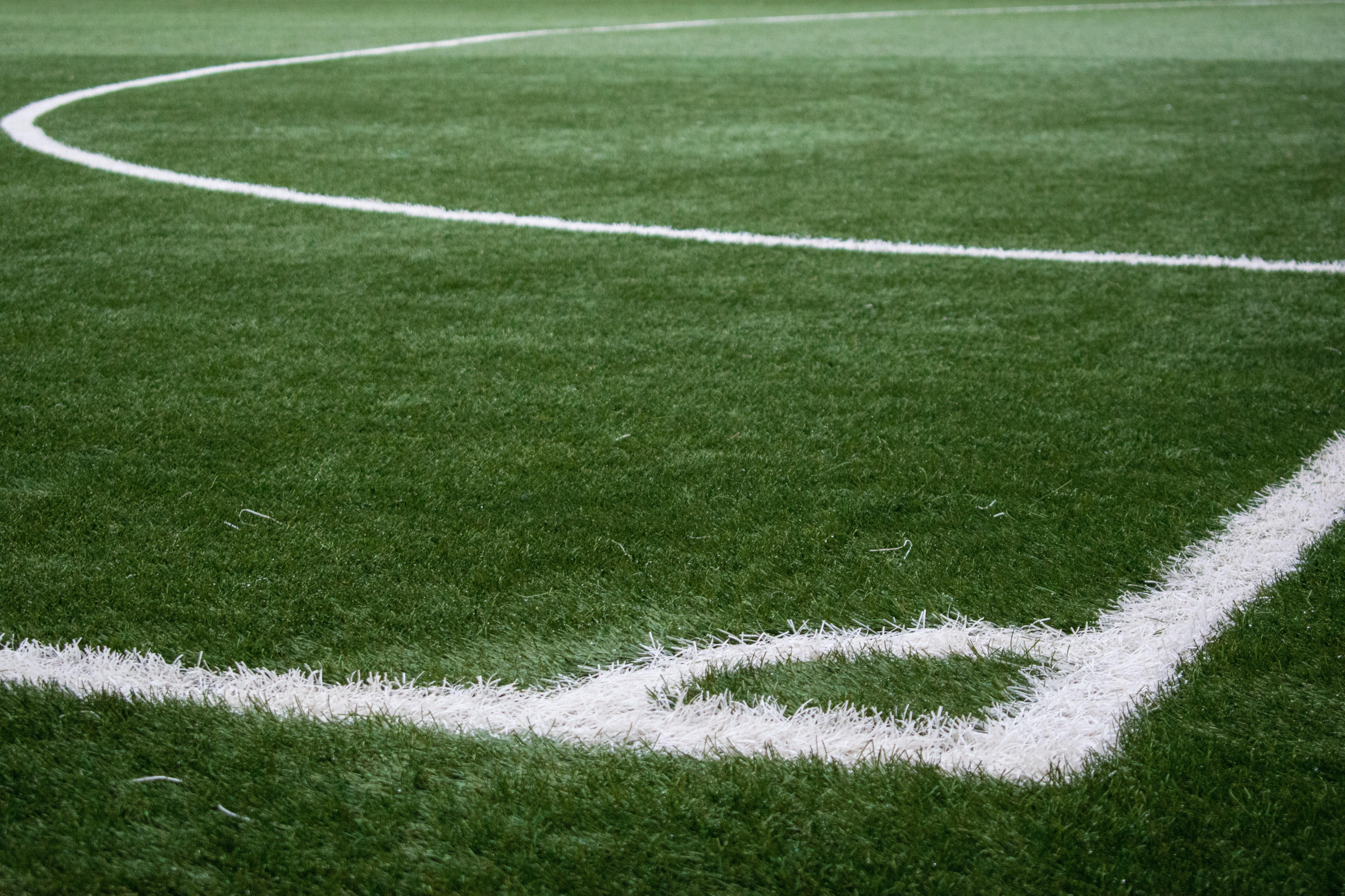 Fotbollplan redo att spelas på
